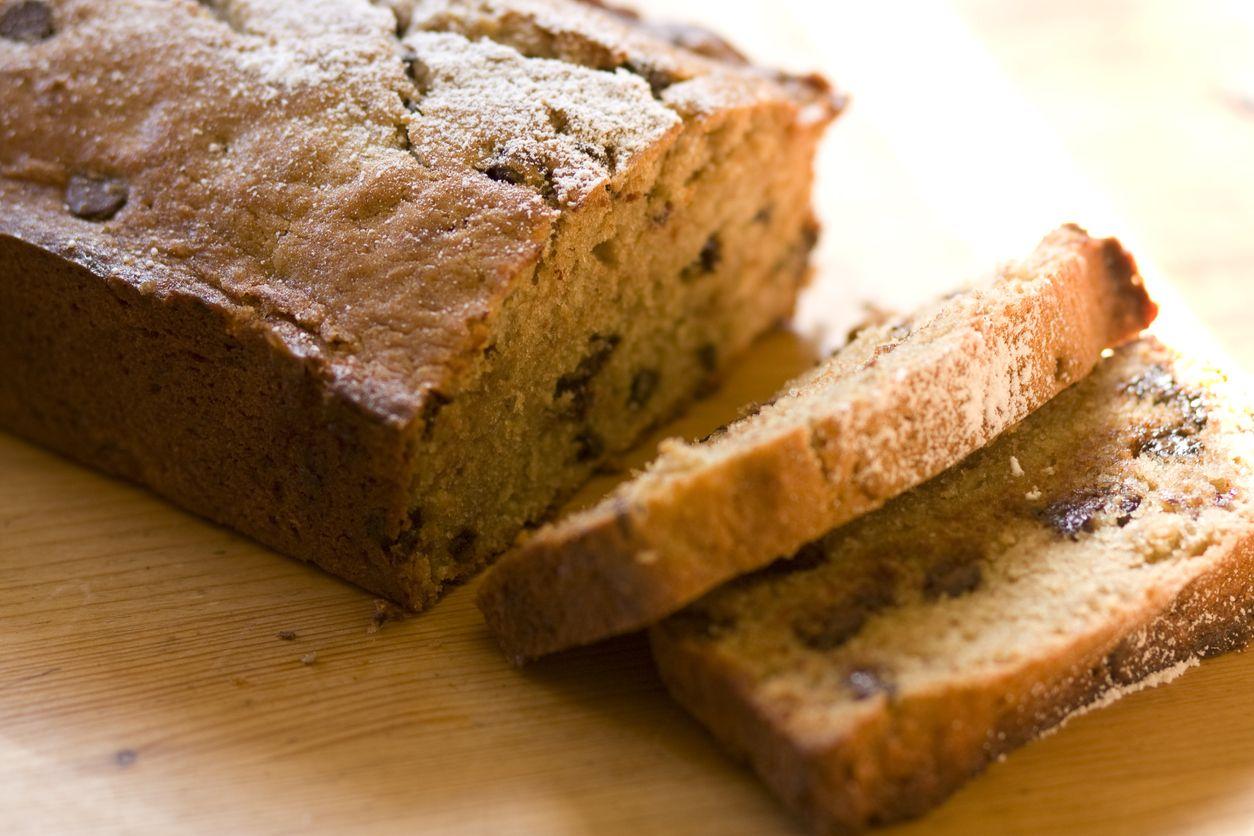 mäkučký banánový chlieb bez cukru a tuku recept