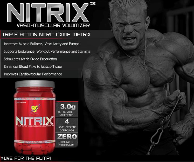 Nitrix BSN predtréningová pumpa Gymbeam