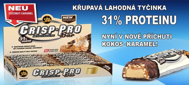 proteínová tyčinka Crisp-Pro Bar all stars