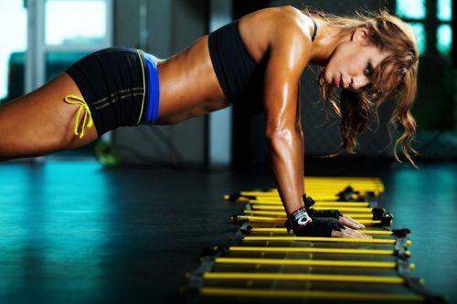 ako schudnúť fitness slečna