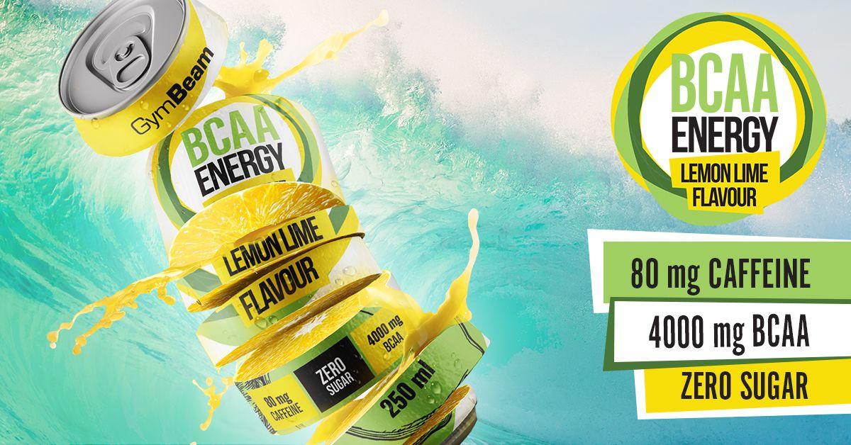 BCAA energy drink - GymBeam