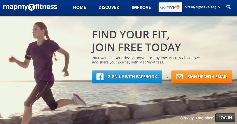 mapuj svoje fitness výsledky