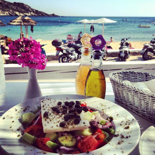 Jednoduchý grécky šalát