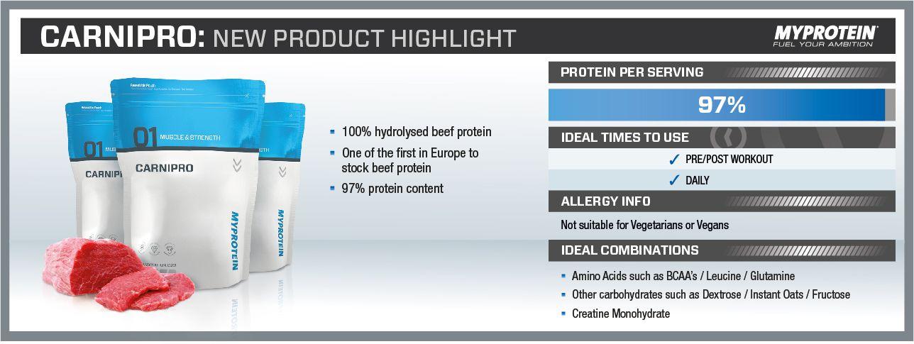 carnipro hovädzi beef proteín