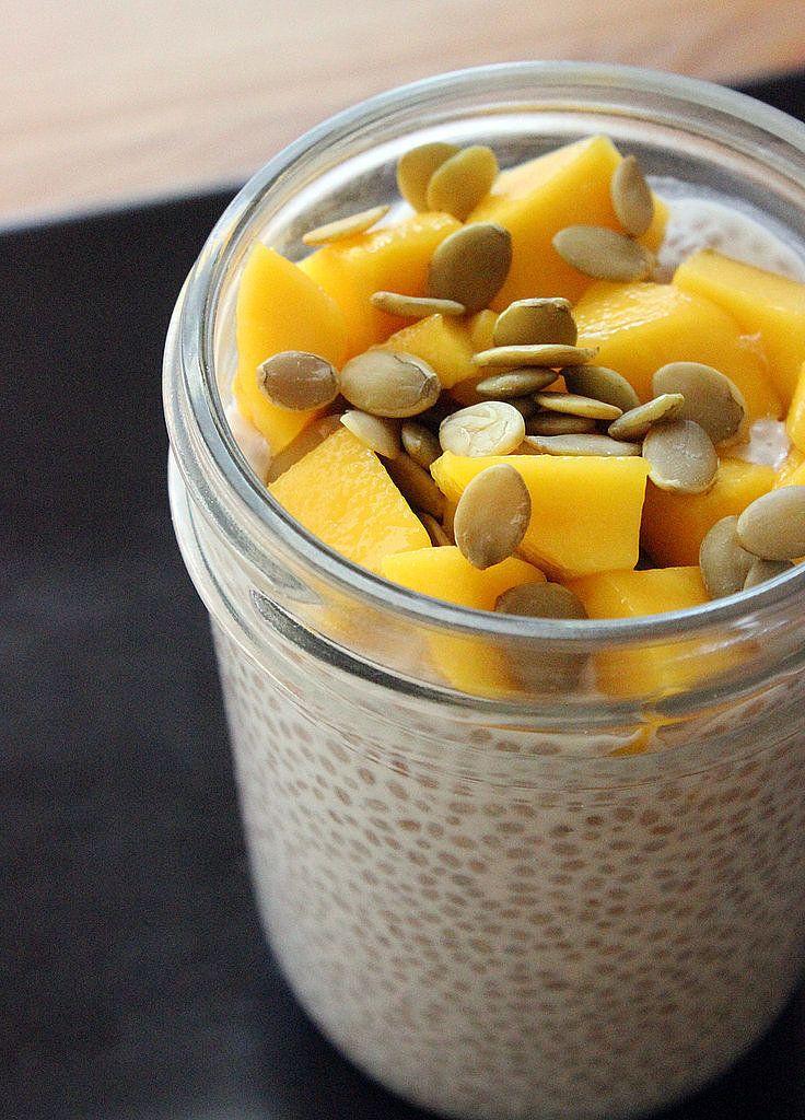 puding z chia semiačok recept tipy na raňajky