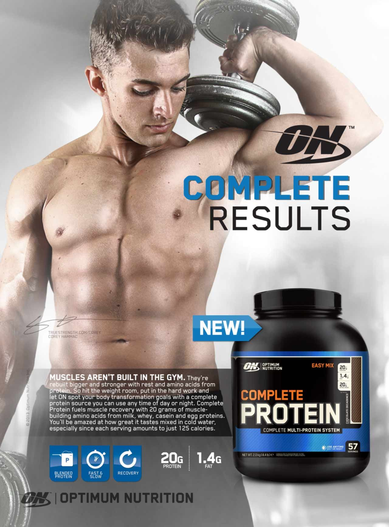 complete protein optimum nutrition