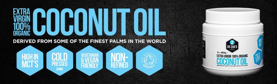 Coconut Oil kokosový olej 100%
