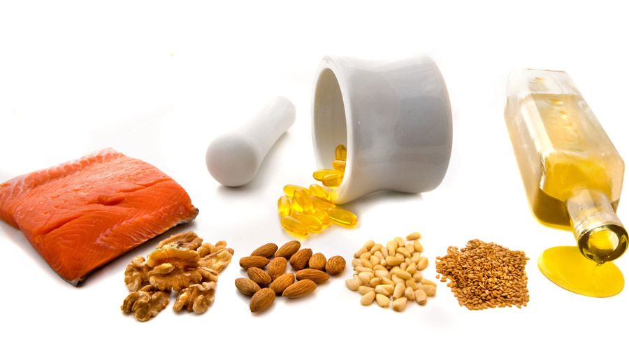 polynenasýtené tuky omega-3 a omega-6 mastné kyseliny