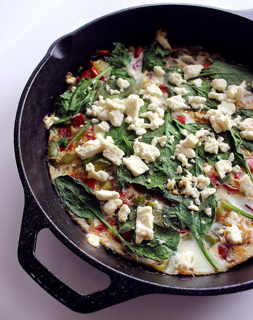 frittata recept tipy na raňajky