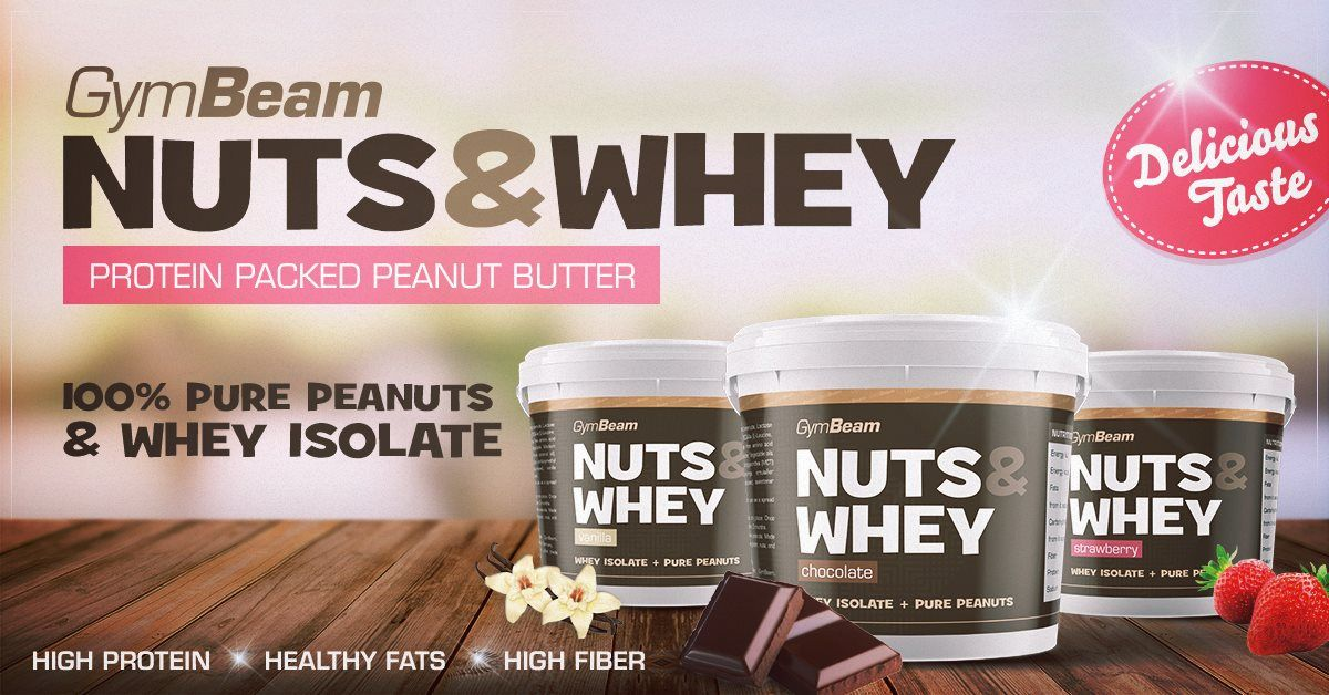Peanut Butter Nuts & Whey GymBeam