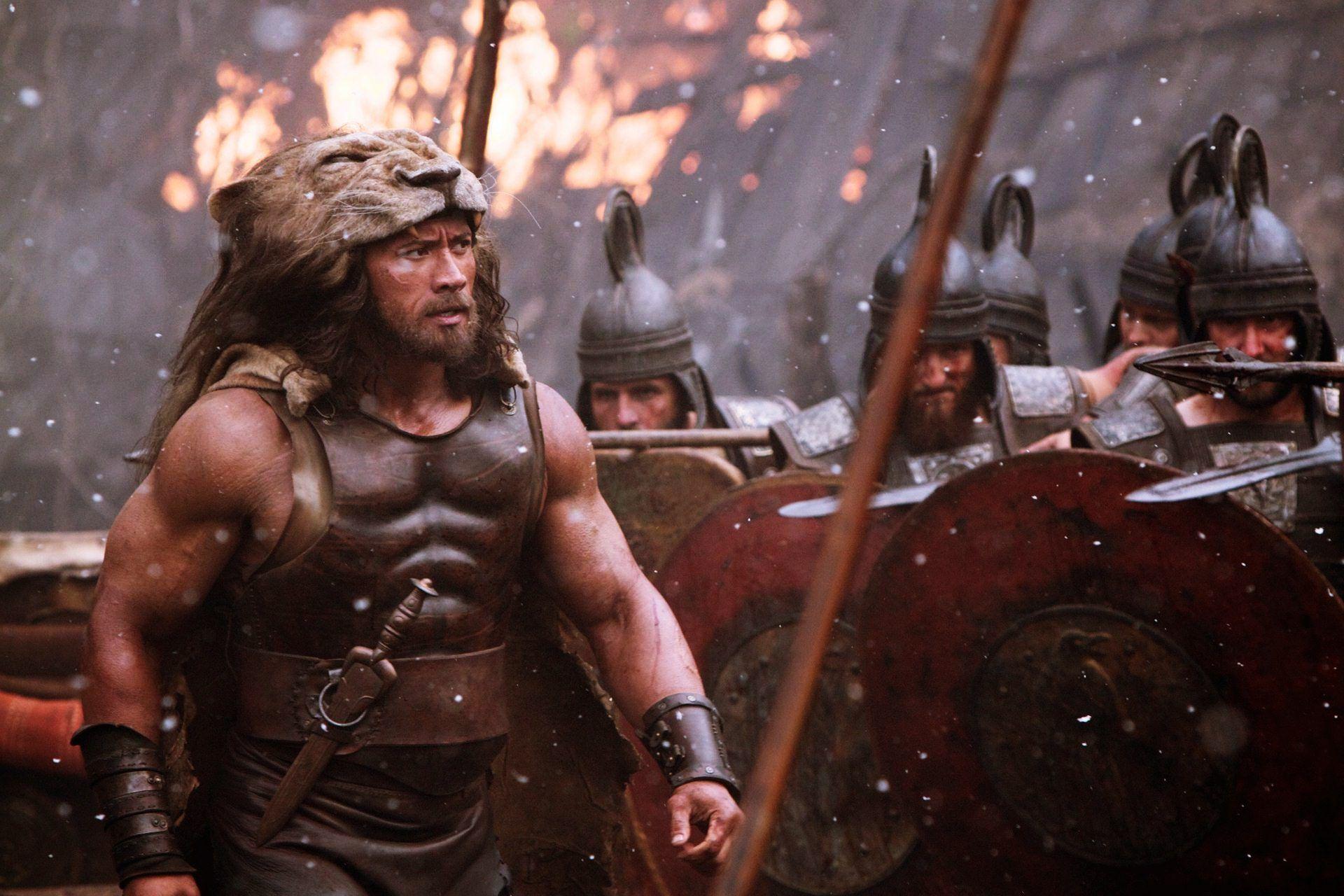 The rock a jeho strava v príprave na Herkula