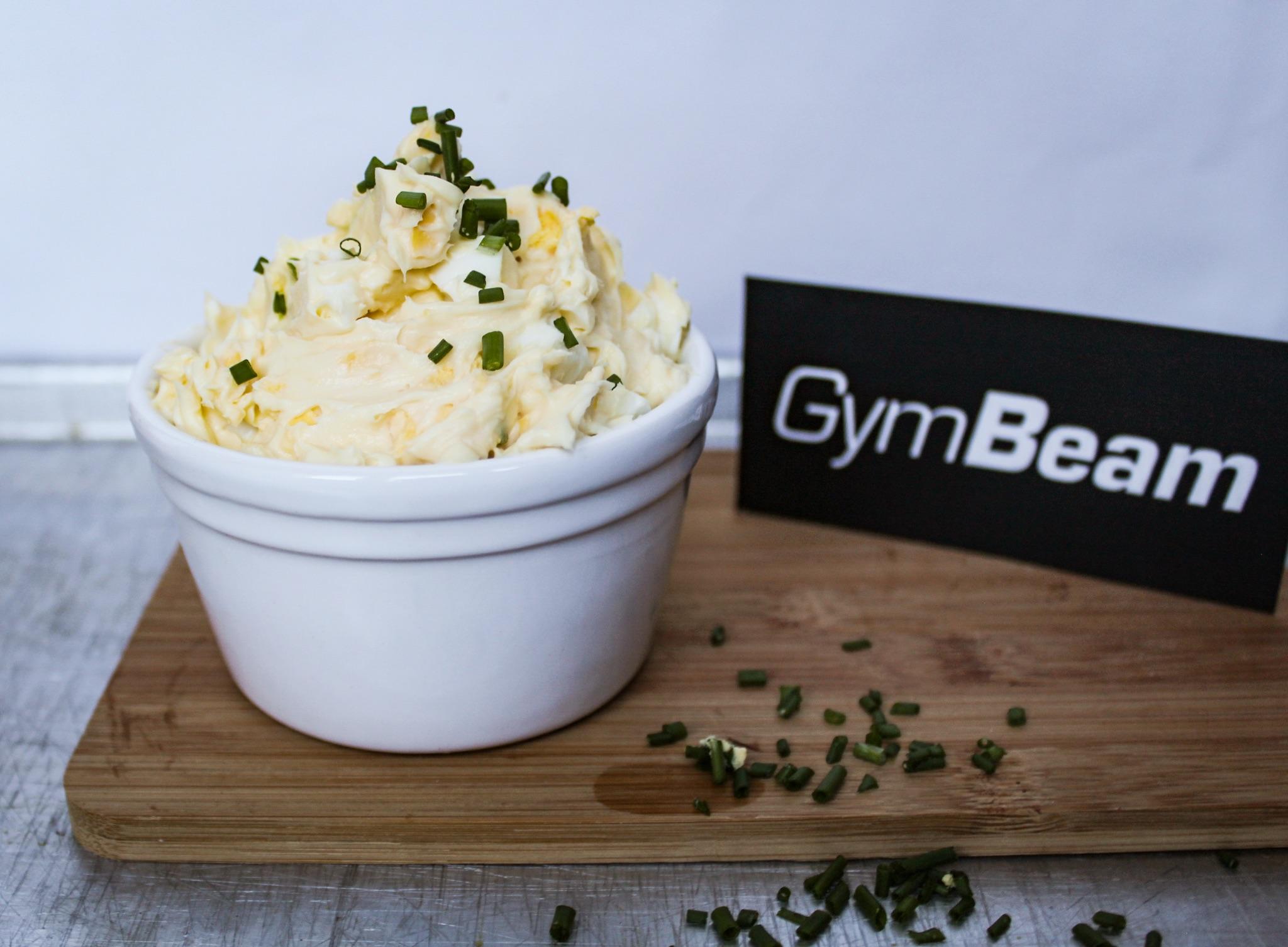 Slaná proteínová nátierka - fitness recepty s proteínom