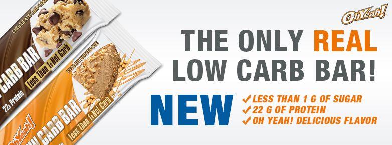 Oh Yeah! Low Carb Bar proteínová tyčinka