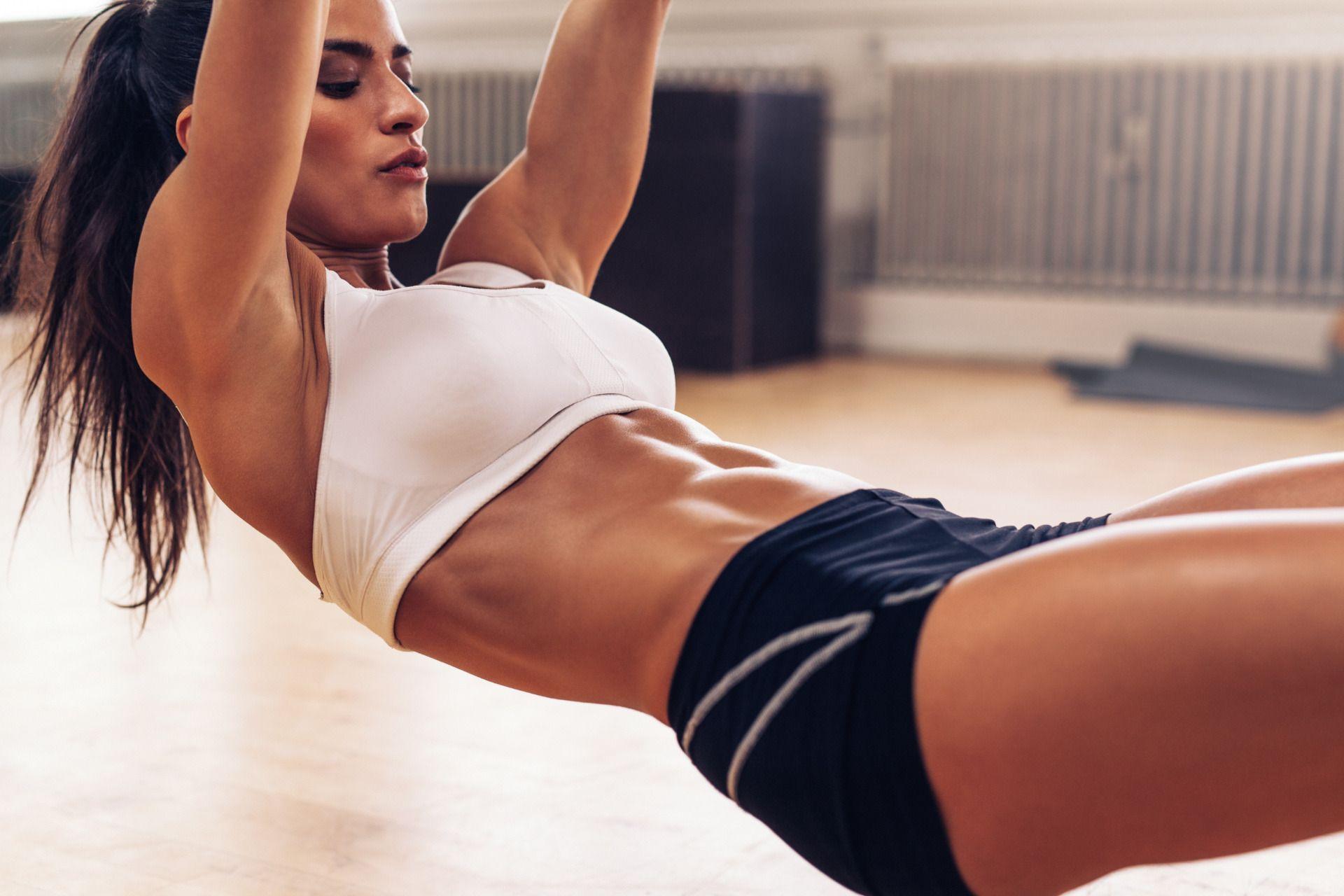 najlepšie cviky na spodné brucho