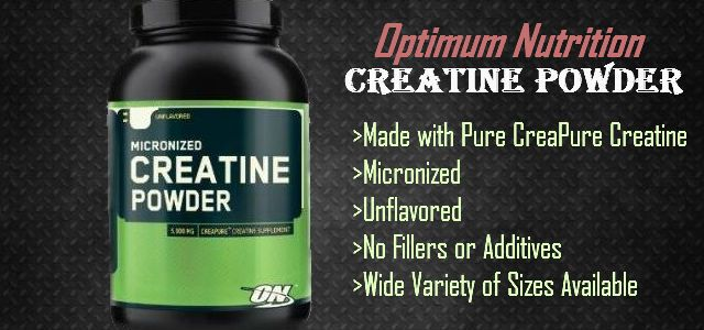 Kreatín powder creatine optimum nutrition