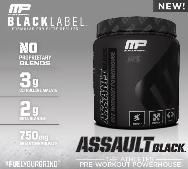 Assault Black predtréningový stimulant