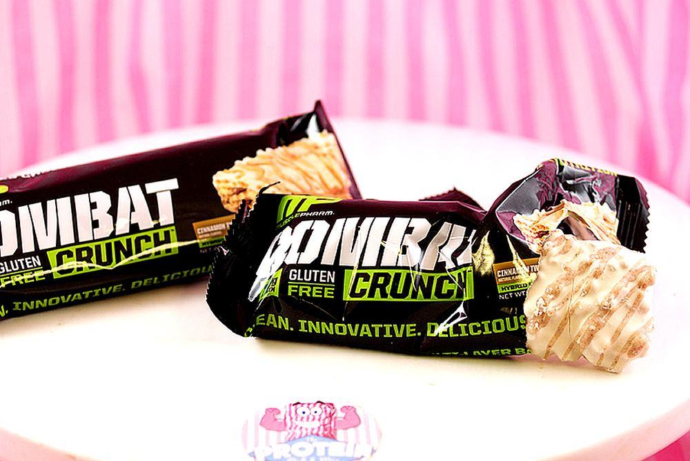 Bezlepková proteínová tyčinka Crunch