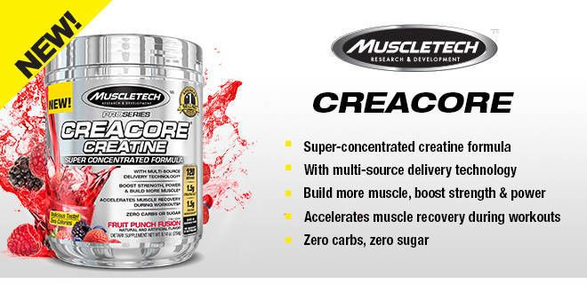 Creacore Creatine Pro Series Muscletech