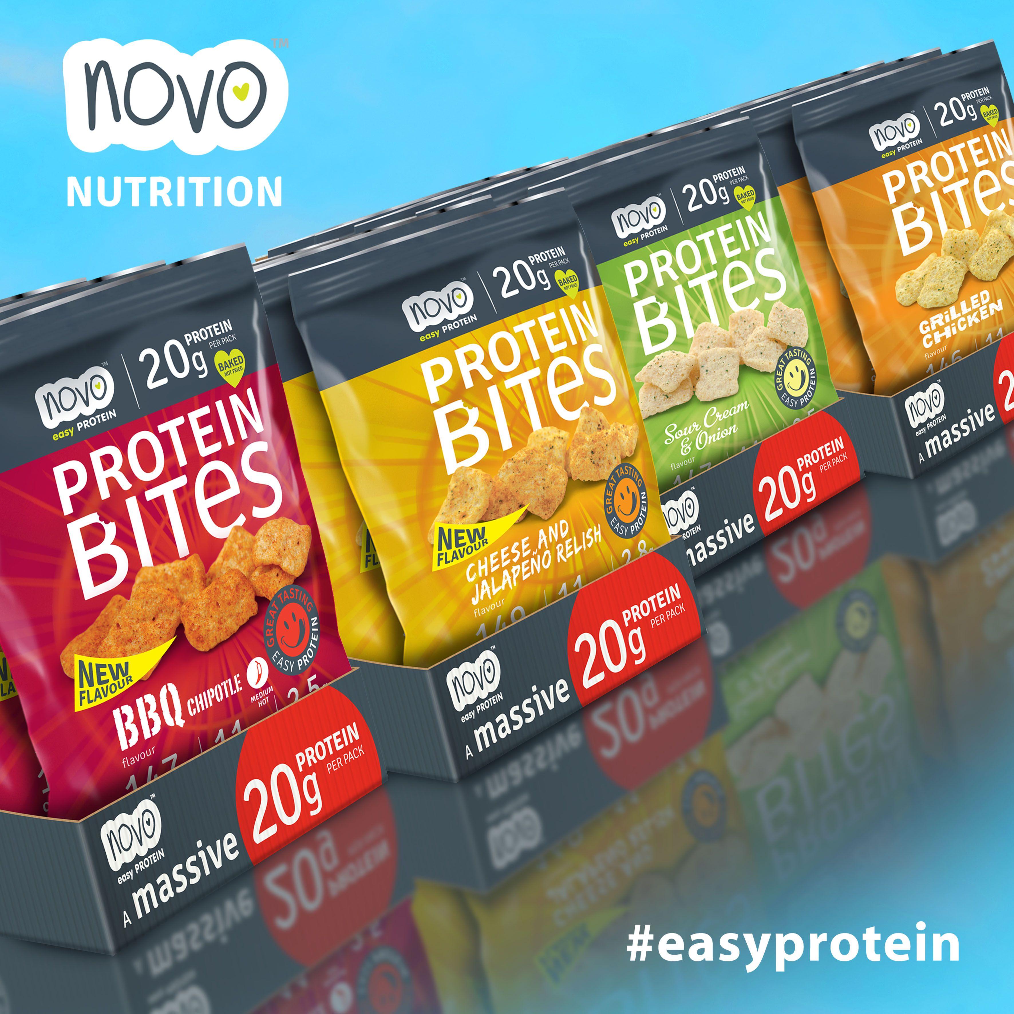 protein bites proteínové chipsy
