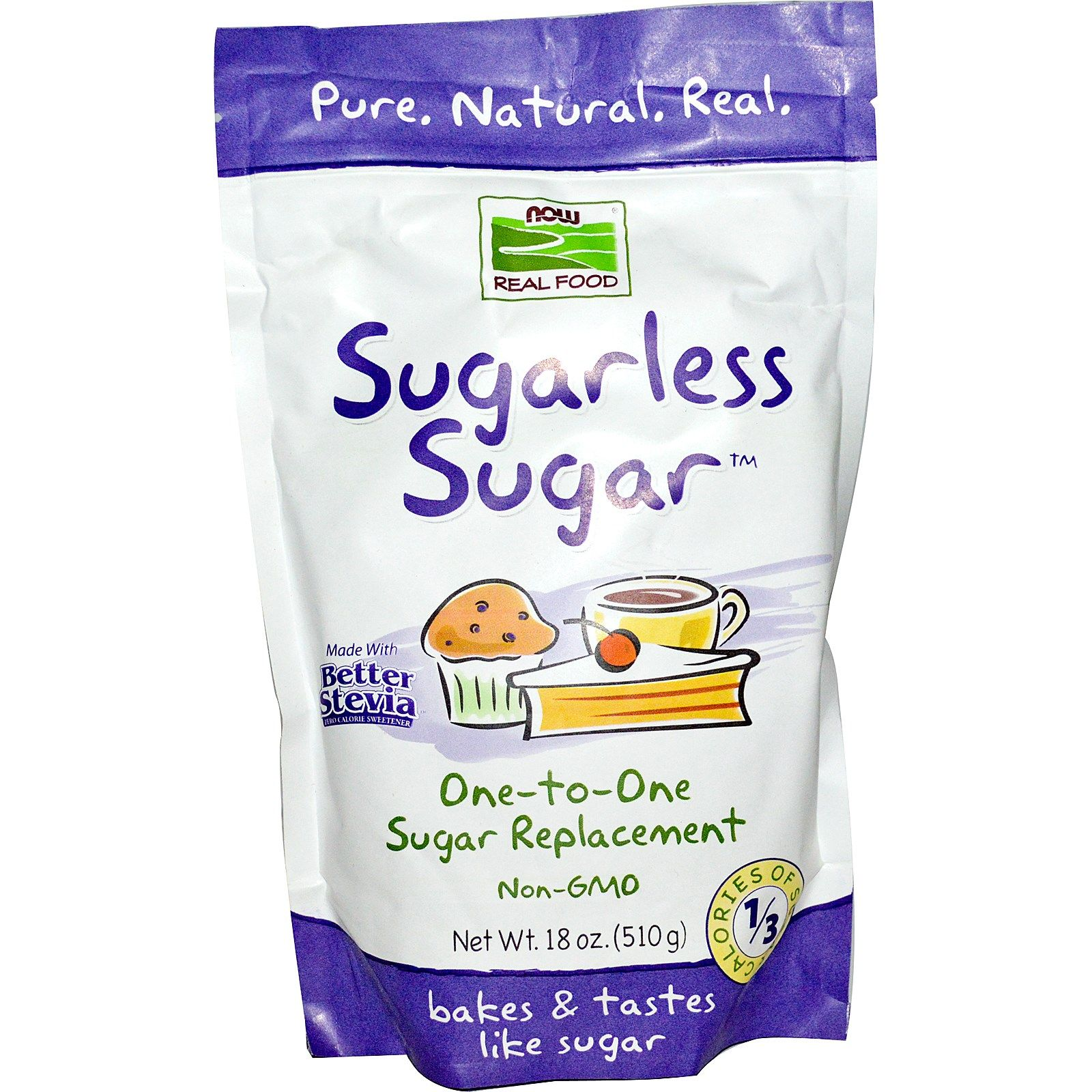 sugarless sugar nowfoods