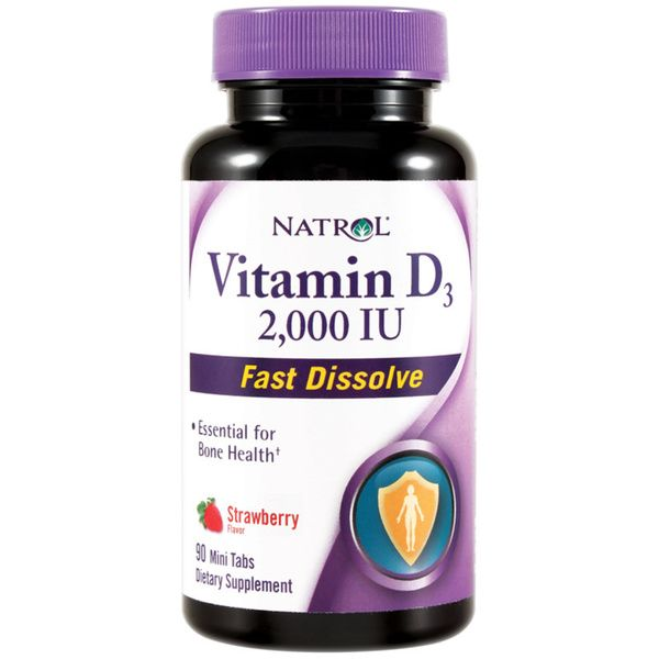 vitamín D3 natrol