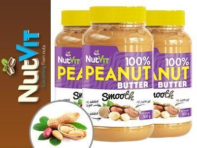 100% Peanut Butter je 100% arašidové maslo