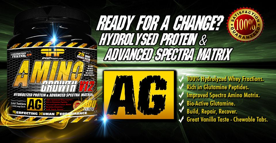 Amino Growth promo