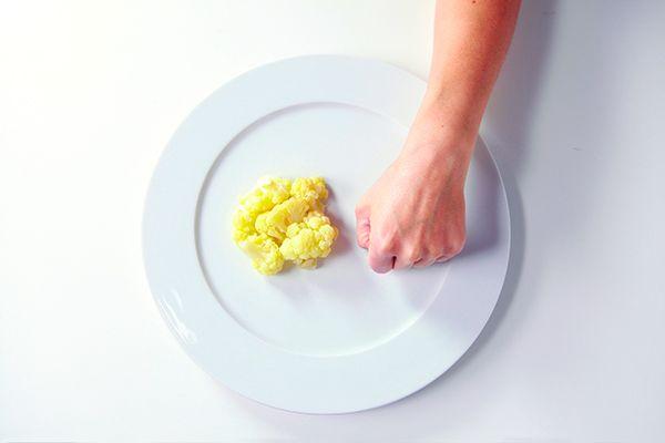 správna porcia podľa ruky
