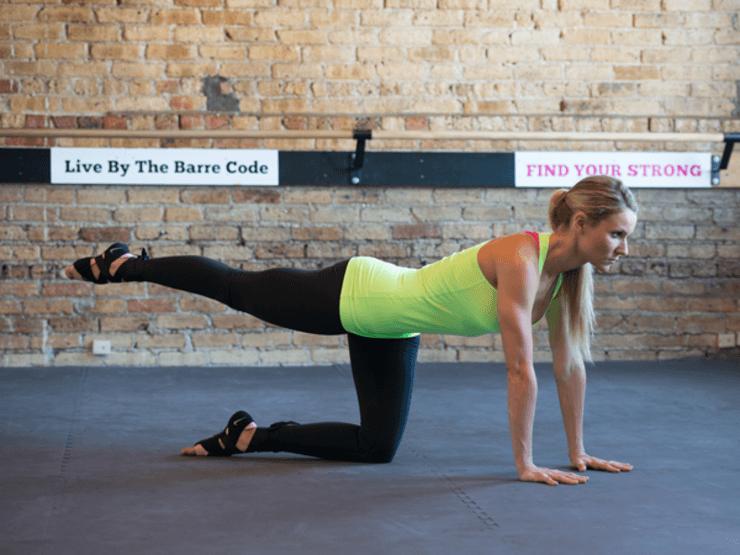 Dvíhanie nôh- 10 cvikov na zadok vašich snov