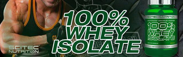 100% whey isolate scitec