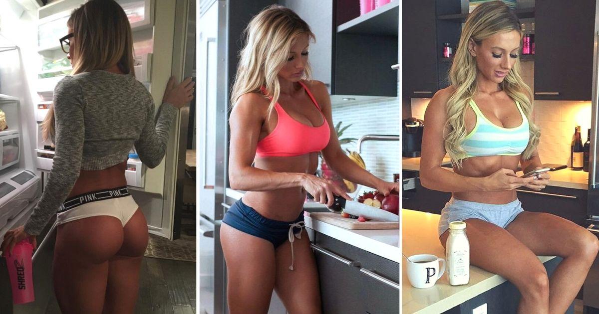 PAIGE HATHAWAY fitness modell étrendje - menüje