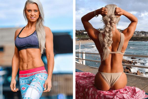 Lauren Simpson ako byť fit počas dovolenky