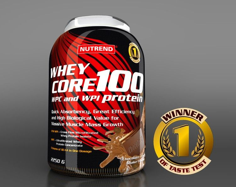 whey core 100 nutrend