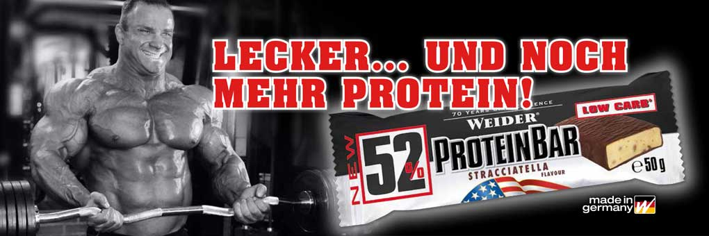 52% Protein Bar weider proteínová tyčinka