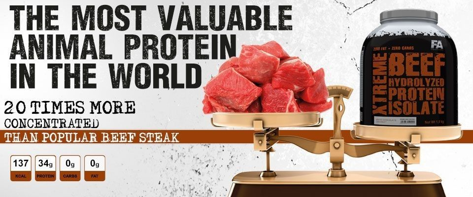 Proteín Xtreme Beef Isolate