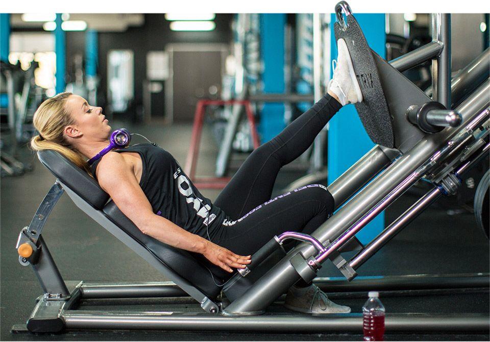 Leg press s jednou nohou: cviky na zadok