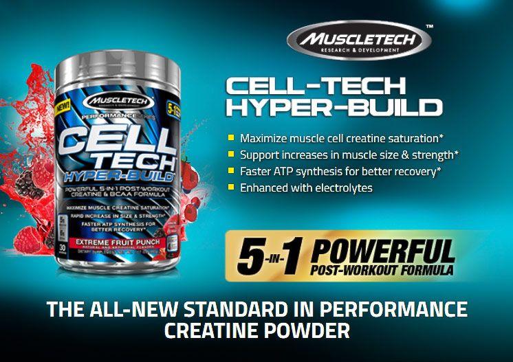 Cell Tech Hyper Build - MuscleTech