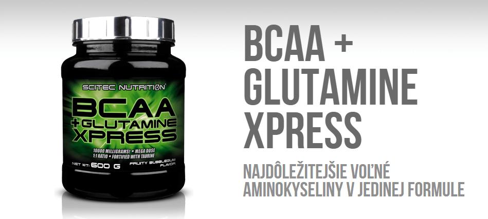 bcaa + glutamine xpress scitec