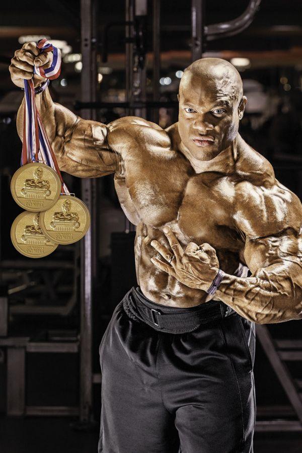 Phil Heath mr. olympia treningovy plan a strava