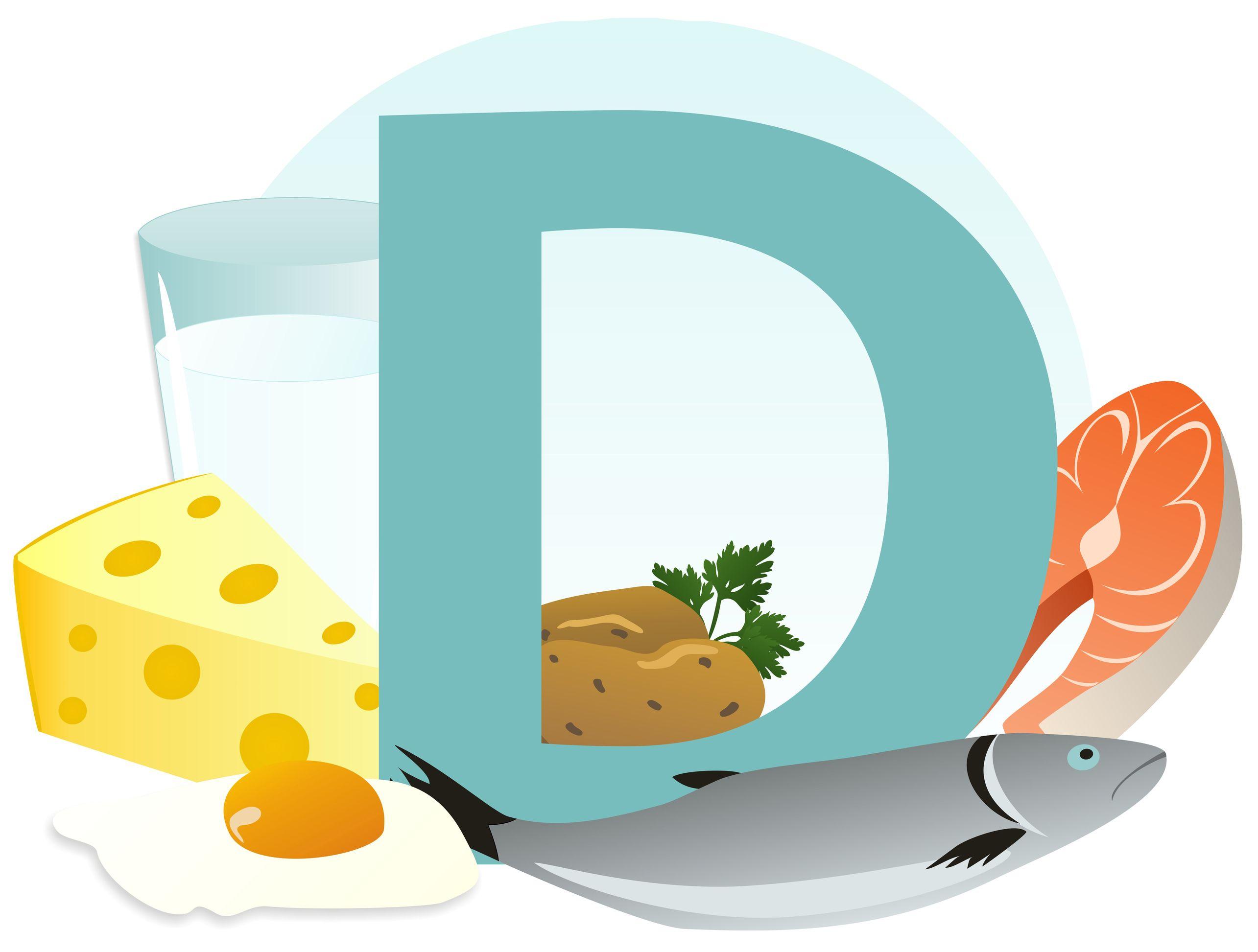 Vitamín D v potravinách