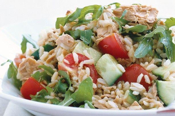 IIFYM: Hnedá ryža + Tuniak nutričné hodnoty