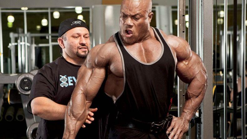 Phil Heat a Hany Rambod tréning