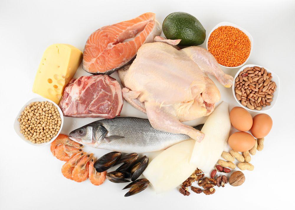 IIFYM: Potraviny bohaté na bielkoviny
