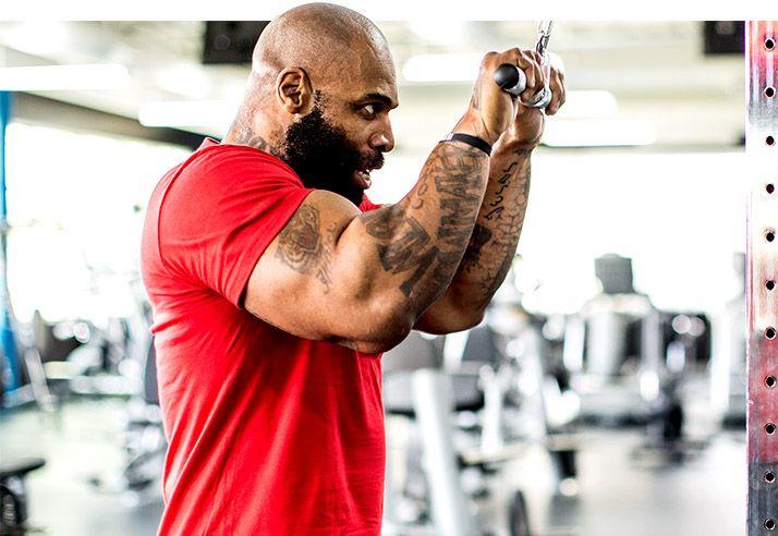 CT Fletcher prikázania na rast svalov