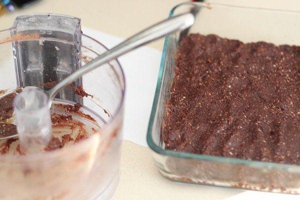 recept na malinový raw koláčik
