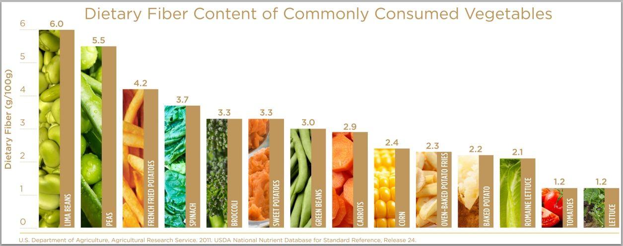 zdroje vlákniny potravinová vláknina