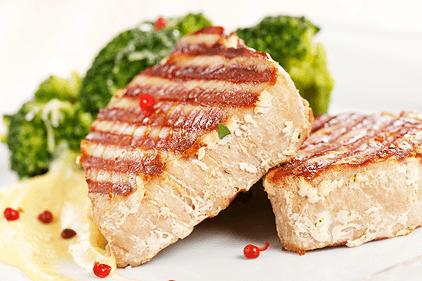 Paleo raňajky tuniak vo vlastnej šťave