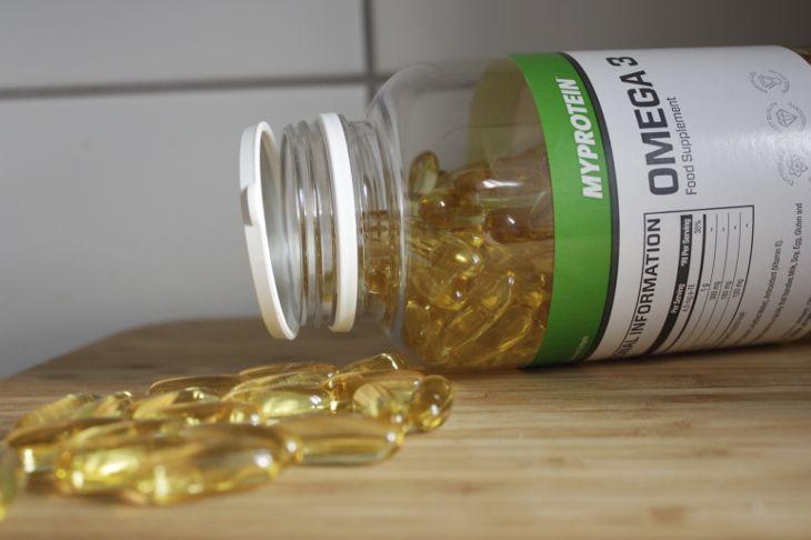 omega 3 rybí olej myprotein