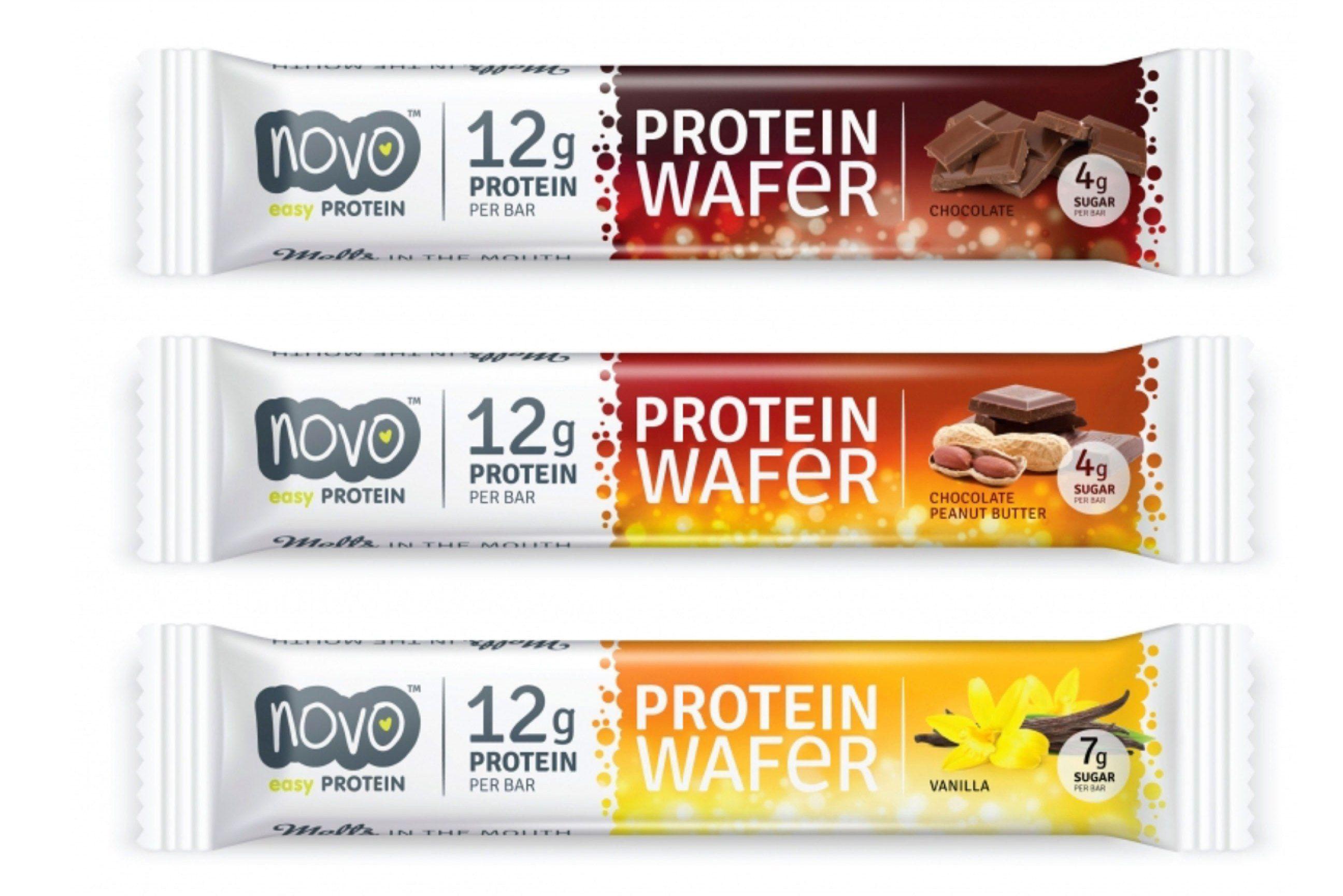 Protein Wafer novo - proteínový snack