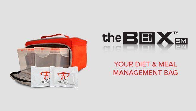 The BOX SM fitmark taška na jedlo